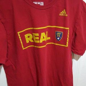 Real salt lake soccer shirt